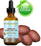 Botanical Beauty BRAZILIAN BURITI FRUIT OIL 100% Pure / Natural / Cold Pressed Carrier Oil / Undiluted. For Face, Body, Hair, Lip And Nail Care. 'One The Richest Natural Sources Of Vitamin A, E And C.' From The Amazon Rainforest. (1 Fl.oz-30ml.)