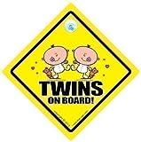 Twins On Board, Twins on Board Car Sign New Bear, Baby Sign, Car Sign, Baby On Board, Twins Car Sign, Bumper Sticker