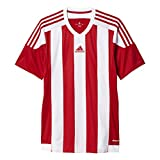 adidas Herren Trikot/Teamtrikot Striped 15 JSY, Power Red/White, S