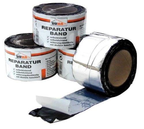 Debratec Reparatur-Alu-Band 100 x 1,5 mm 10 lfdm