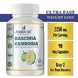 Verdure Garcinia Cambogia (120 Veg caps) - High Strength 2250 mg for Ultra