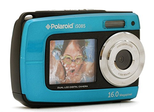 Polaroid Is085-blu-cop 16 Digital Camera With 2.7-inch Lcd (blue)