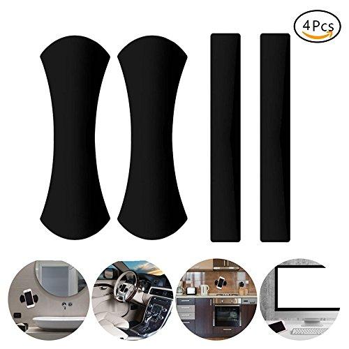 EVILTO-2-Pack-Handy-Stnder-Antirutschmatte-KFZ-Halterung-Universal-Fixate-Gel-Pads-Auto-Armaturenbrett-Antirutschmatte