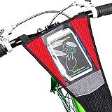 Leezo - Protector de Red para Bicicleta con Pantalla