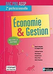 estimation pour le livre Economie-Gestion 2e Bac Pro ASSP