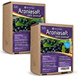 2 x 5L Obsthof Stockinger Aronia Muttersaft Bag in Box Aroniasaft, Sparpaket