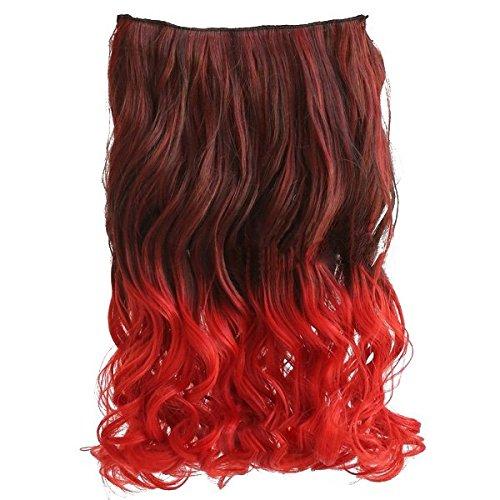 lockige Haarverlaengerungen - SODIAL(R)20