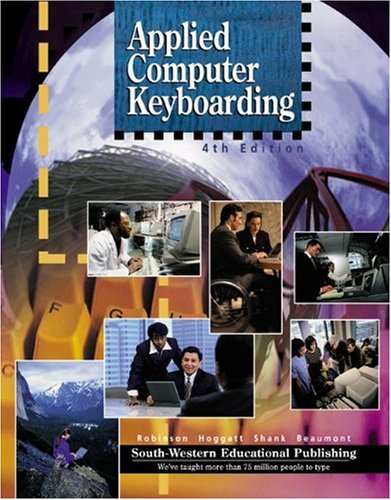 Applied Computer Keyboarding: Textbook (Hardcover)