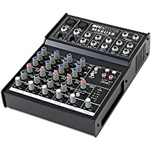 Invotone MX6USB DJ Mixer table de mixage 6 canaux USB