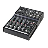 Invotone MX6USB DJ Mixer table de mixage 6 canaux USB