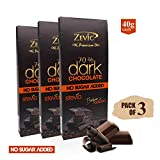 Best Dark Chocolates - Zevic 70% Belgian Cocoa Sugarfree Dark Chocolate Review