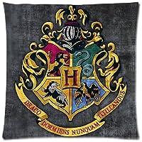 Harry Potter scuola di Hogwarts Alternatore Grifondoro Tassorosso Corvonero Serpeverde personalizzazione federa cuscino Custodia cover (Scuola Di Hogwarts Serpeverde Casa)