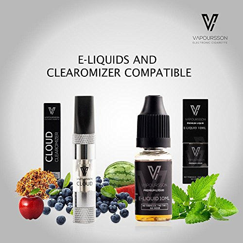 VAPOURSSON 5 X 10ml E Liquid Mint Mix NEW FLAVOURS | Mint | Strong Mint | Doublemint | Menthol | Spearmint | New Super Grade Formula To Create A Super Strong Flavour with Only High Grade Ingredients | VG & PG Mix | Made For Electronic Cigarette and E Shisha