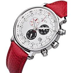 AUER Swiss Red AU-ZU-611-WRL Mens Chronograph SWISS ISA