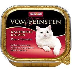 Animonda Vom Feinsten kastrierte Katzen Nassfutter für ausgewachsene Katzen, 32 x 100 g
