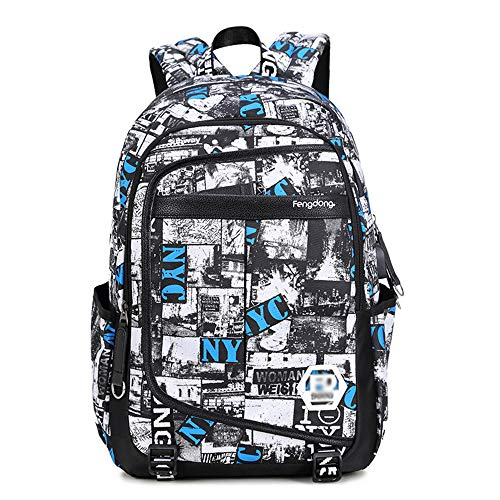 YX Youth College Student Bag Günstige Shopping Military Classic Rucksack Strand Reise Campus Tote Unicorn Sport Handytasche Zeremonie Fitness Waren Wasserdichte Tasche City Bike Sport Rucksack