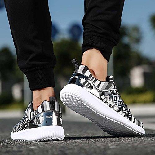 Chaussures De Course Zxcv Outdoor Grey Hommes Multisport Sport