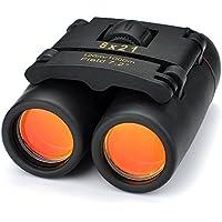 Patuoxun 8 x 21 et légère pliante Binocular Jumelle Zoom avec un Chiffon Propre et la Boîte pour Voyage
