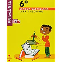 Lengua castellana, Leer y escribir. 6 Primària. Projecte 3.16 - 9788466122139