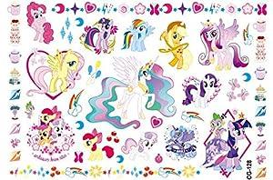 Newin Star Tatuajes Unicornio Temporales