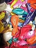 500 Luftballons Metallic Ø 28 cm Farbe frei wählbar Ballons Helium Luftballon (Gemischt)