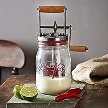 Kilner Baratte à beurre en verre