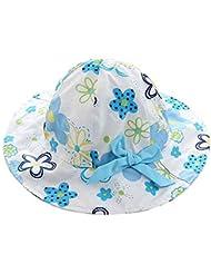 Sombrero suave y cómodo de la protección de Sun Sombrero del pescador de la niña