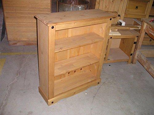 Mercers Furniture Corona Small Bookcase – Pine