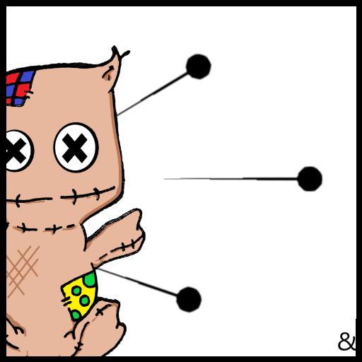 HooDoo Yoo VooDoo (Voodoo-pins)