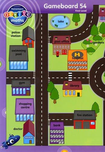 Heinemann Active Maths - First Level - Beyond Number - Gameboards
