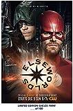 Lost Posters Rare Poster Green Arrow Arrowverse: Batman et Captain America Flash 2018The CW Reprint # 'd/100.