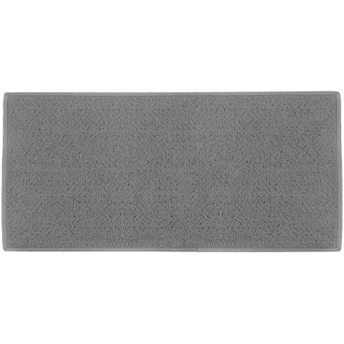 Promobo Teppich Bettvorleger, Büro Eingang-teilig CITY grau 57x 115cm