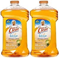 Mr. Clean with Febreze Freshness Antibacterial Liquid Cleaner - 40 oz - Citrus & Light - 2 pk by Mr. Clean