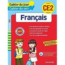 Cahier du jour/Cahier du soir Français CE2 - Nouveau programme 2016