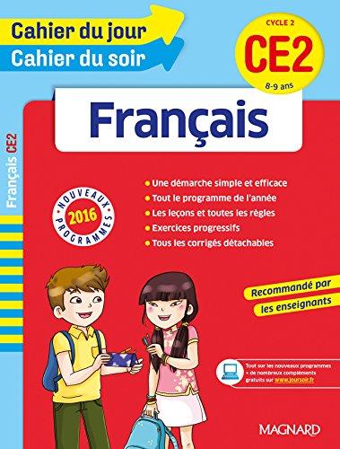 Cahier du jour/Cahier du soir Français CE2 - Nouveau programme 2016 par Collectif