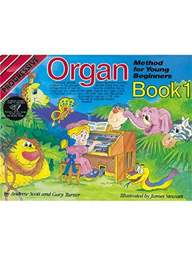 Progressive Organ Method For Young Beginners (Book/CD). Partitions, CD pour Orgue