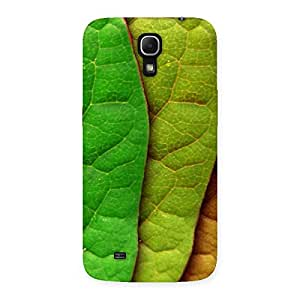 Cute Leaf Pattern Multicolor Back Case Cover for Galaxy Mega 6.3