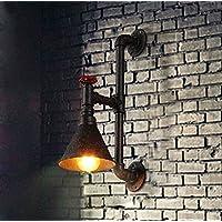 PinWei Progetto Hotel La lampada da parete di corridoio Applique retrò tubo Jarhead (160 * 510mm) , rust