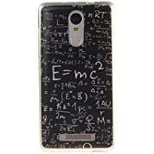 Funda Xiaomi Redmi Note 3, Carcasas Xiaomi Redmi Note 3, TPU silicona Case, Ultra-Delgado, Anti-Rasguño, Anti-Estático, OUJD Totalmente Protectora Cover paraXiaomi Redmi Note 3 - Fórmula Matemática
