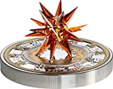Power Coin ST Isaacs Cathedral Isaakskathedrale Moravian Star Crystal Giant 1 Kg Kilo Silber Münze 100$ Cook Islands 201