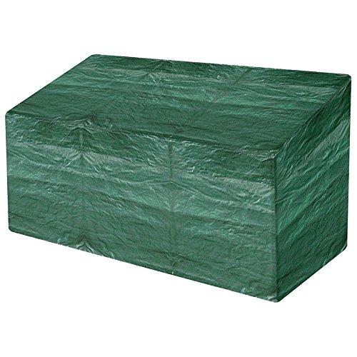 spares2go Wasserdicht Outdoor Garten Tischläufer BBQ Bank Stuhl Regenschutzhülle (klein mittel groß + Kordelzug Design) Garden Bench 3 Seater Cover