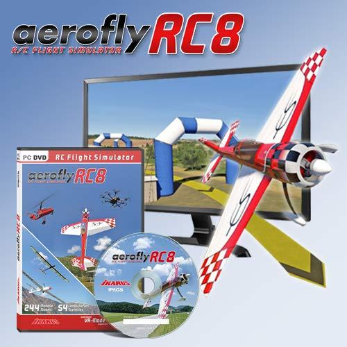 aeroflyRC8 auf DVD für Windows