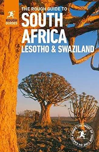 South Africa, Lesotho And Rough Guide To Swaziland (Rough Guides) por Vv.Aa