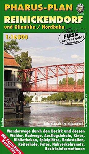 Pharus-Plan Reinickendorf und Glienicke/Nordbahn: 1:16000