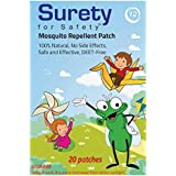Surety For Safety Mosquito Repellent Patches - 20