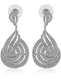 SHAZE Suave Wave Earrings|Earrings For Women|Earrings For Women Stylish