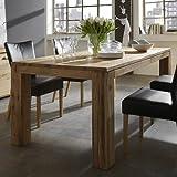 SalesFever Esstisch aus Massivholz - ZORA Eiche geölt verschiedene Größen B 220 x T 100 x H 78 cm