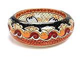 Azura - Talavera Aufsatzwaschtisch - Cerames   Aufsatzwaschbecken 40 cm   Mexiko Waschschale für Badezimmer Gäste WC Gästebadezimmer Küche