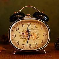 KHSKX Vintage creativo mute disattiva la sveglia sveglia da 3