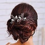Yean, fermagli da sposa per capelli, da donna e ragazza (confezione da 2 pezzi)
